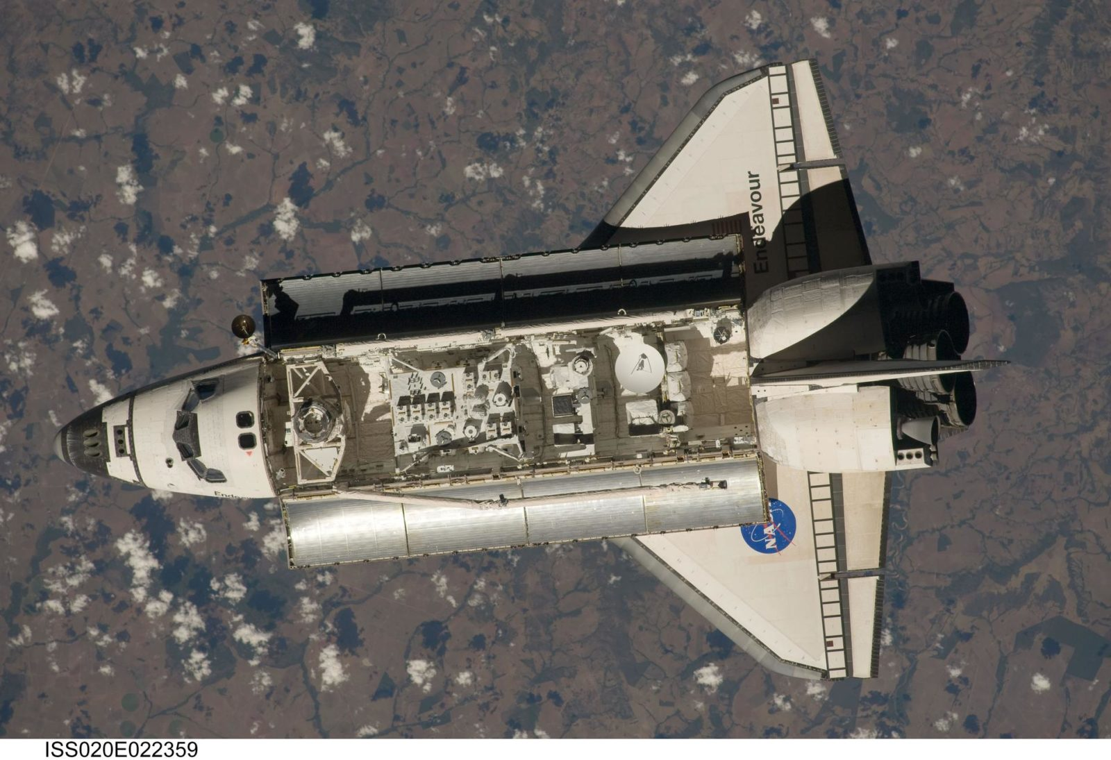 STS-127 approach to ISS