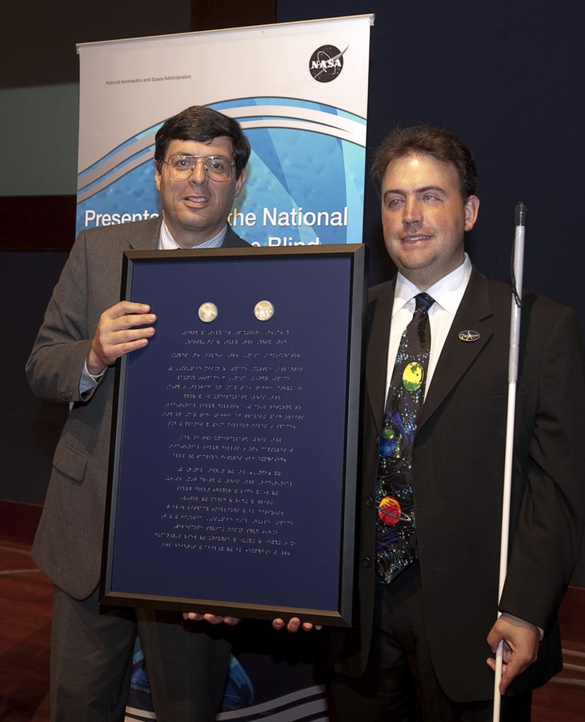 National Federation of the Blind Braille Coin