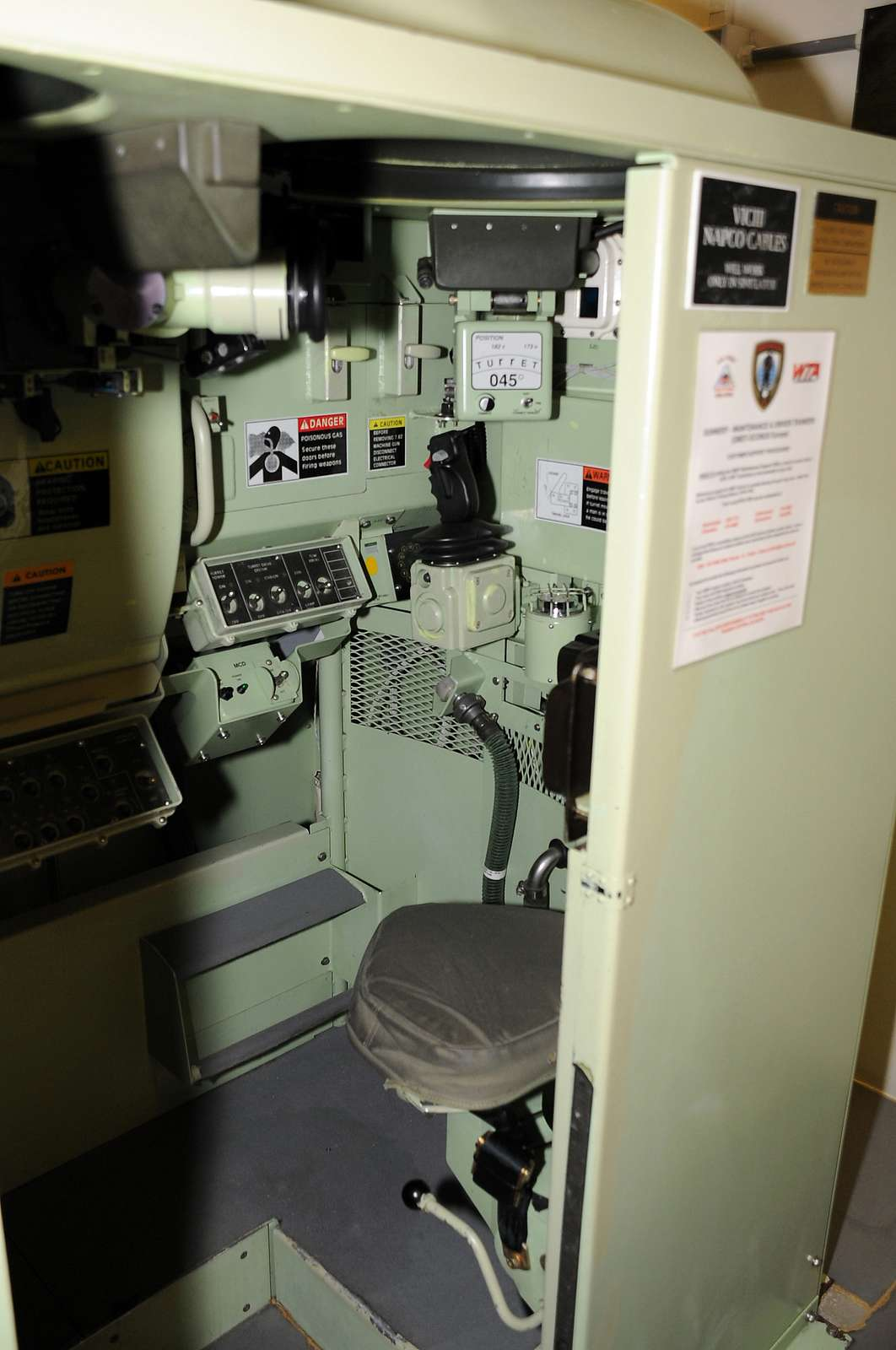 An image of the inside of a Bradley Conduct of Fire