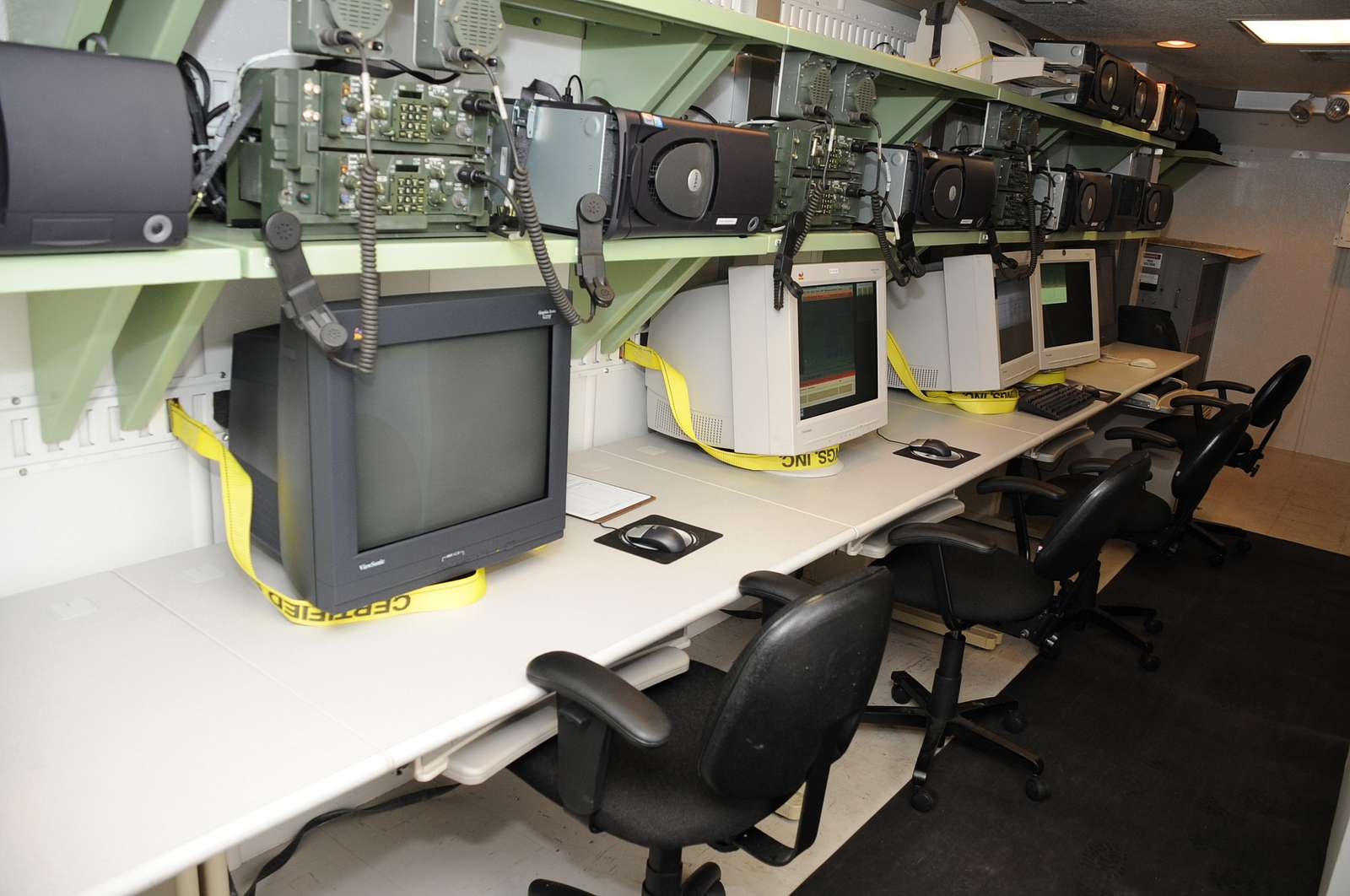 An image of the student instructor operator station