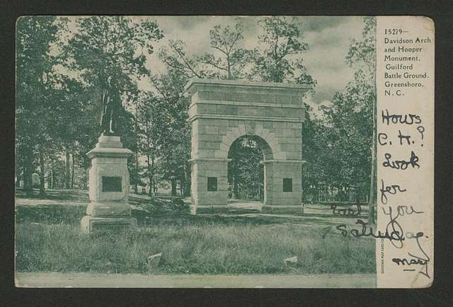 Davidson Arch and Hooper Monument