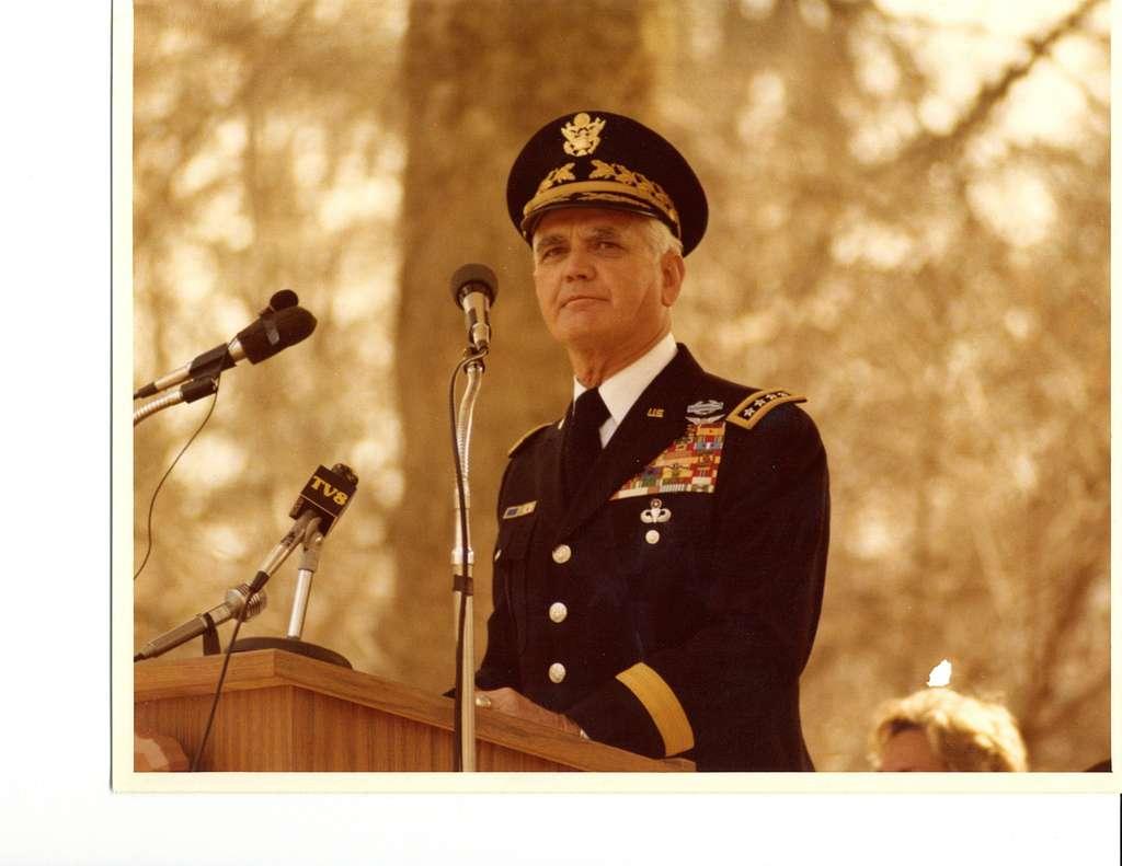 General Westmoreland anniversary 1981