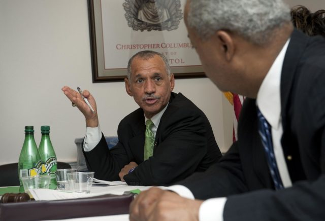 Congressional Black Caucus meets with NASA
