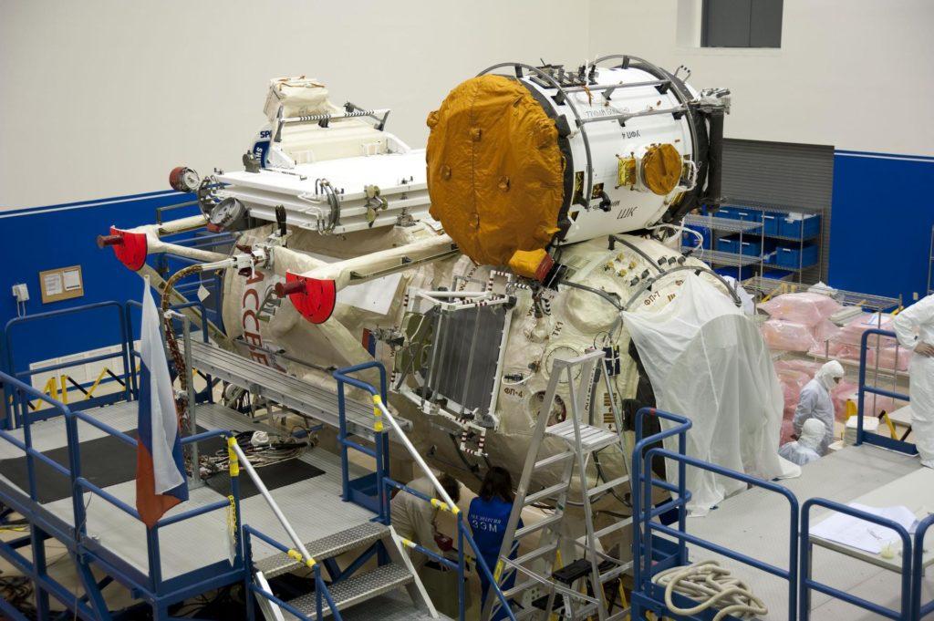 STS-132 MINI RESEARCH MODULE-1 CARGO STORAGE 2010-2348