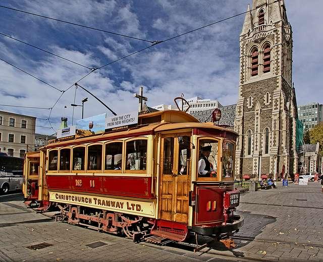 Christchurch Tramway.