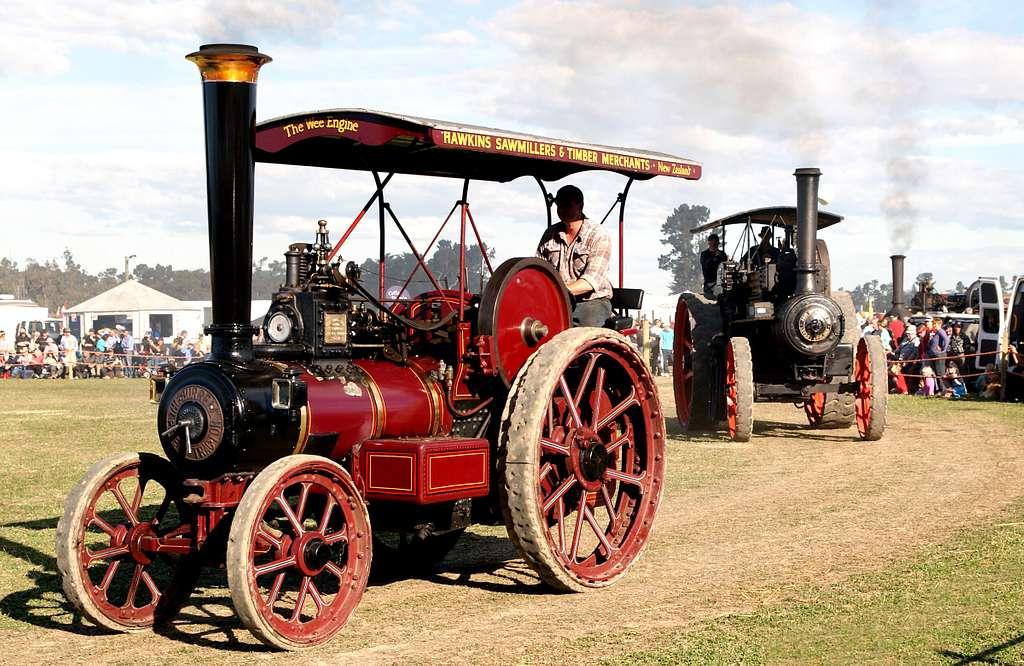 McLaren Traction Engine