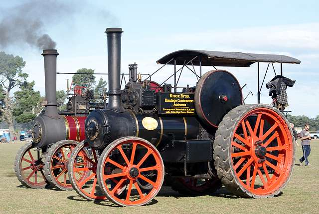 McLaren Traction Engines.