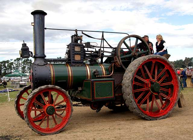 The Burrell Traction Engine (12)
