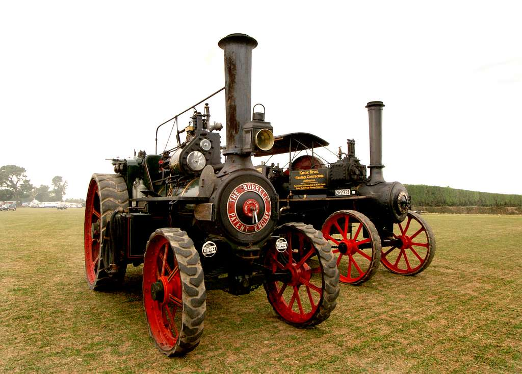 The Burrell Traction Engine