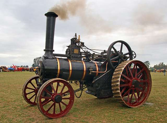 The Burrell Traction Engine (6)