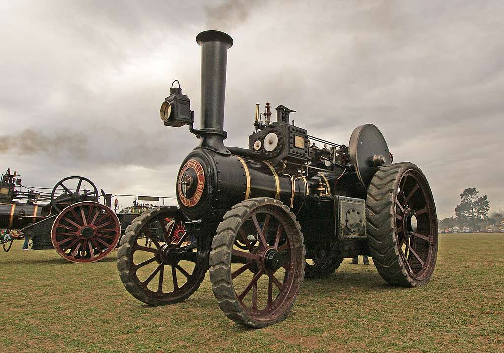 The Burrell Traction Engine (7)
