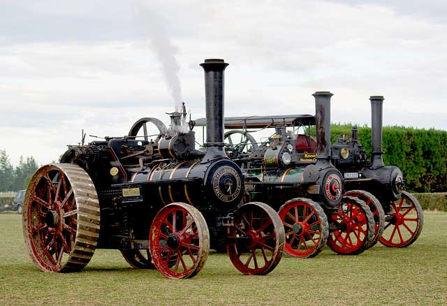 The Burrell Traction Engine.