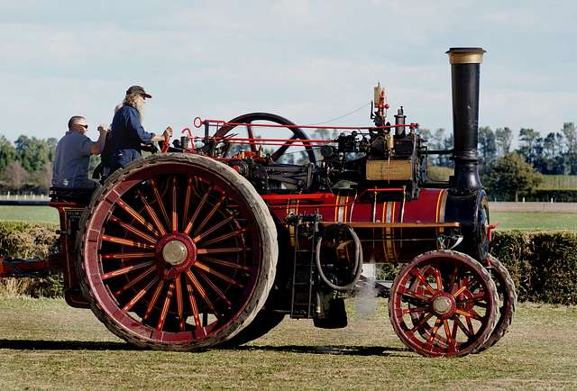 The Foden Traction Engine