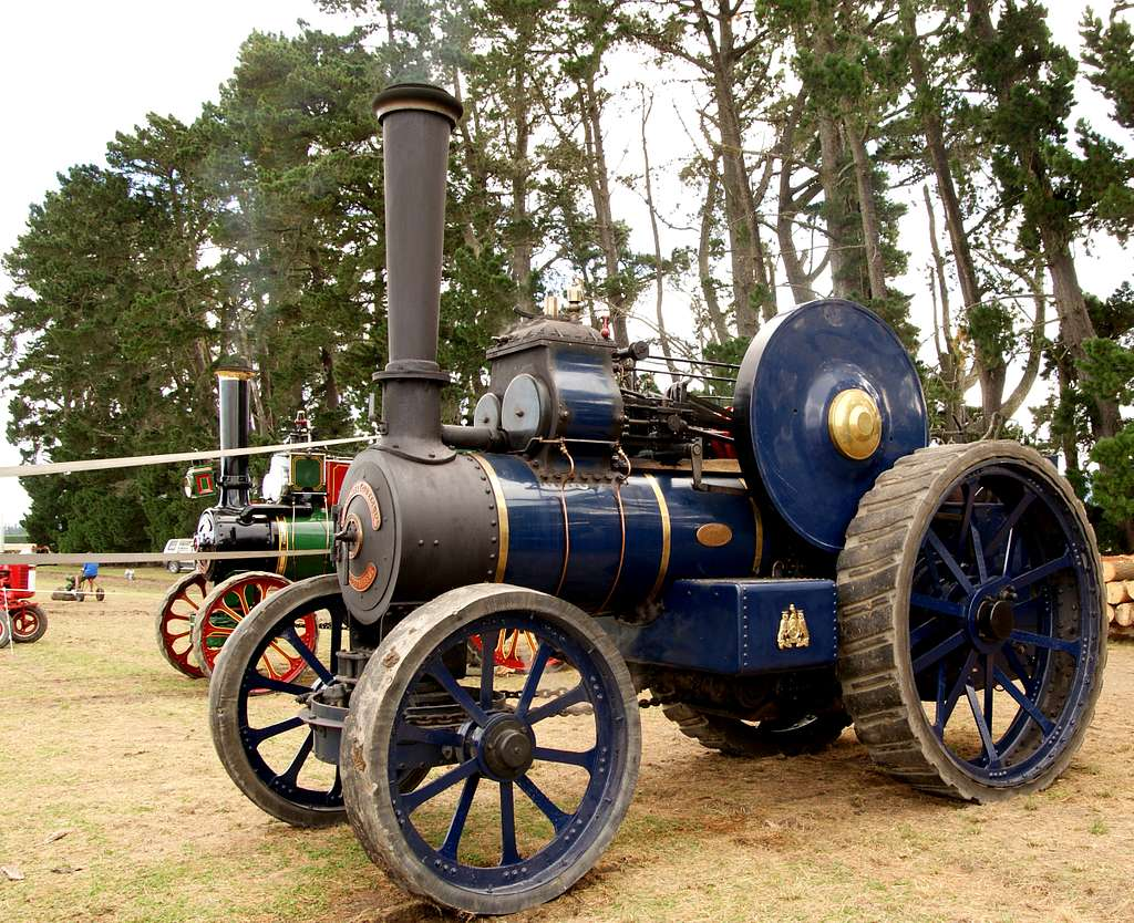 The Fowler Traction Engine