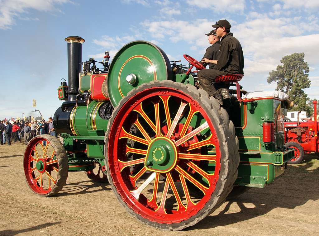 The Robey traction engine.