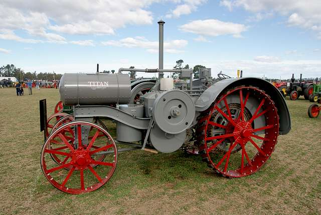 Titan tractor.