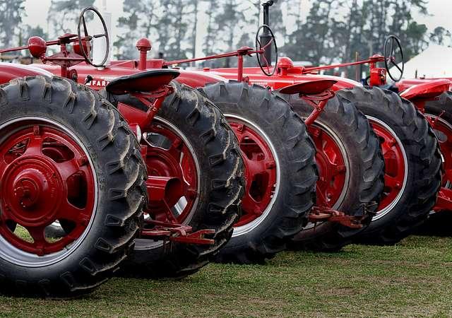 Tractor power.