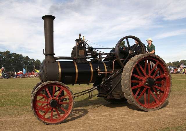 The Burrell Traction Engine (1)