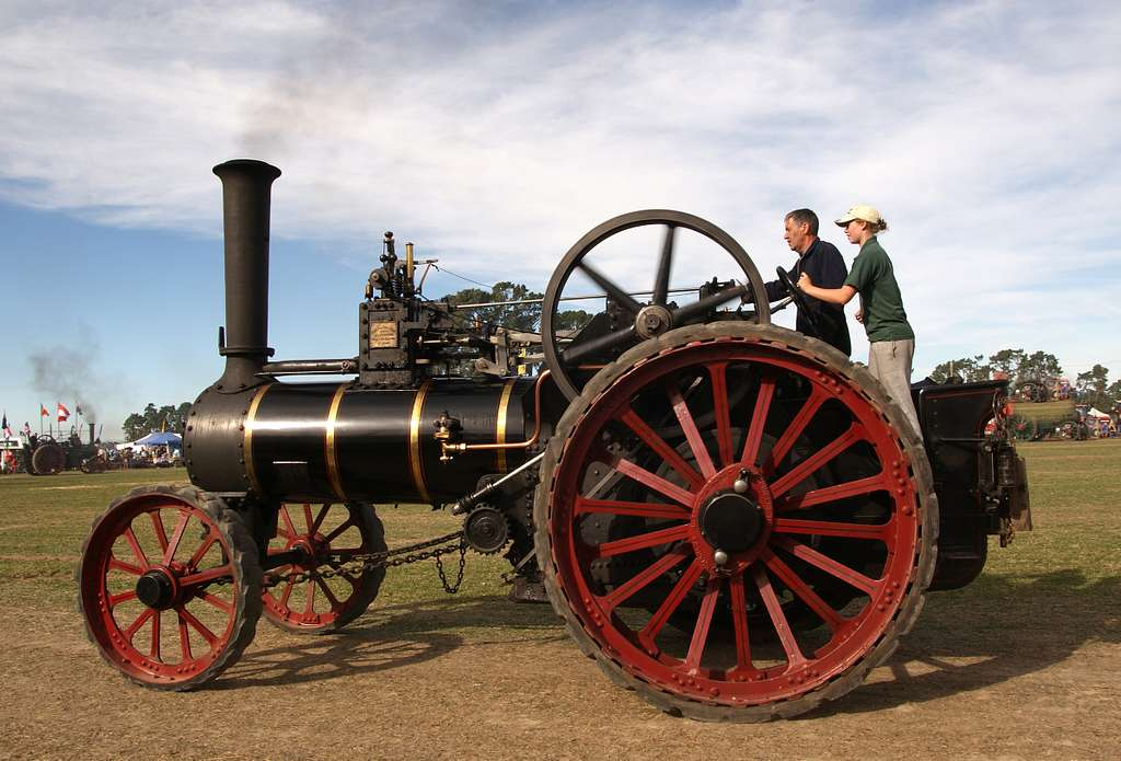 The Burrell Traction Engine (2)