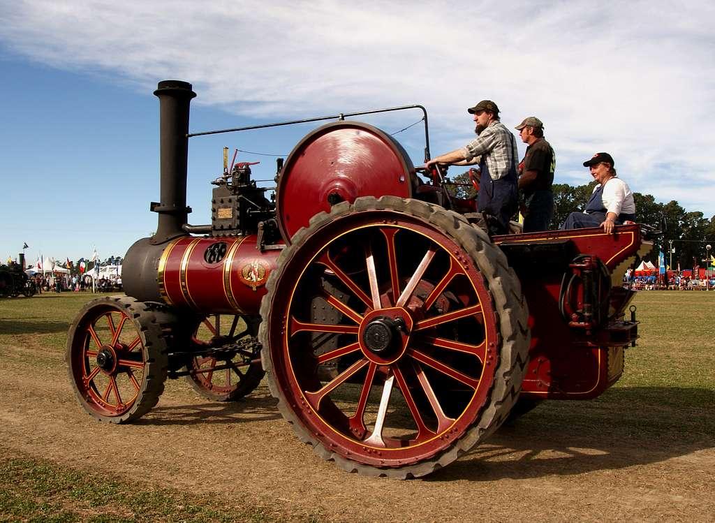 The Marshall Tracton Engine.