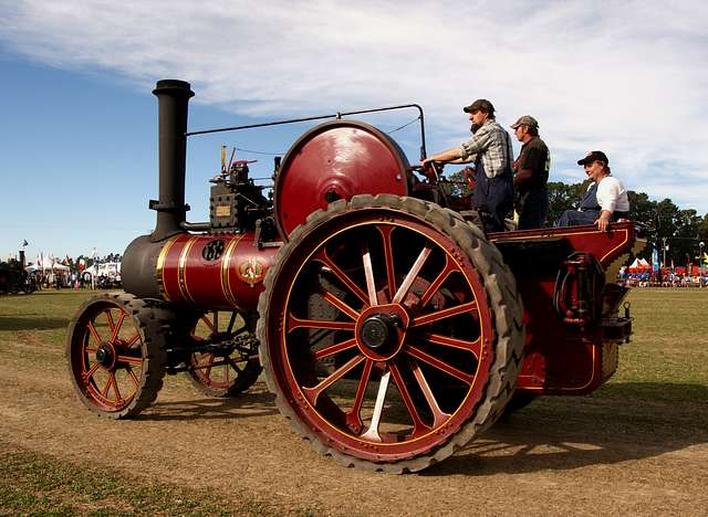The Marshall Tracton Engine.