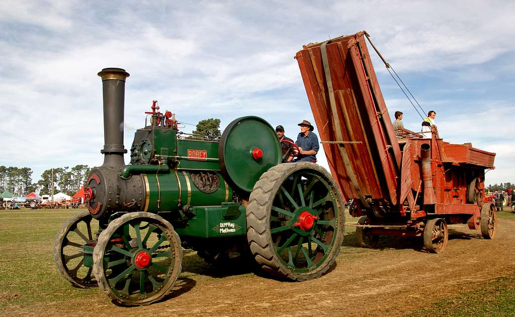 The Robey Traction Engine