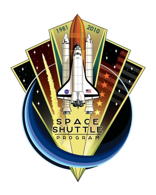 JOHNSON SPACE CENTER, Houston - JSC2010-E-079335 -- To celebrate the upcoming 30th anniversary and retirement of the Space Shuttle Program, the design of this patch aims to capture the visual essence and spirit of the program in an iconic and triumphant manner. As the Space Shuttle Program has been an innovative, iconic gem in the history of American spaceflight, the overall shape of the patch and its faceted panels are reminiscent of a diamond or other fine jewel. The shape of the patch fans out from a fine point at the bottom to a wide array across the top, to evoke the vastness of space and our aim to explore it, as the shuttle has done successfully for decades. The outlined blue circle represents the shuttle's exploration within low Earth orbit, but also creates a dynamic fluidity from the bottom right around to the top left to allude to the smoothness of the shuttle orbiting Earth. The diagonal lines cascading down into the top-right corner of the design form the American Flag as the shuttle has been one of the most recognizable icons in American history throughout the last three decades. In the top left and right panels of the design, there are seven prominent stars on each side, which represent the 14 crew members who were lost on shuttles Challenger and Columbia. Inside of the middle panel to the right of the shuttle, there are five larger, more prominent stars that signify the five space shuttle vehicles NASA has had in its fleet throughout the program. Most importantly though, this patch is as an overall celebration of the much-beloved program and vehicle that so many people have dedicated themselves to in so many capacities throughout the years with a sense of vibrancy and mysticism that the Space Shuttle Program will always be remembered by. This patch was designed by Aerospace Engineer Blake Dumesnil, who has supported the Space Shuttle Program with his work in the Avionics and Energy Systems Divisions of the NASA Johnson Space Center Engineering Directorate. It is the winning entry in a commemorative patch design contest sponsored by the Space Shuttle Program. Image credit: NASA/Blake Dumesnil KSC-2010-4649