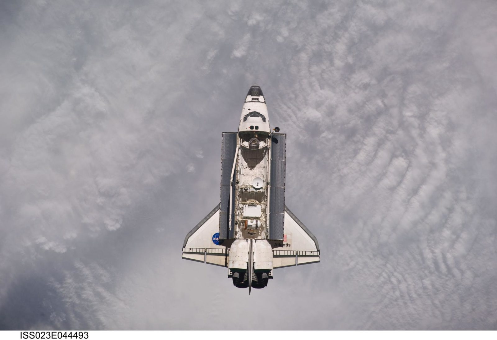 Atlantis on Approach to ISS during the STS-132 Mission