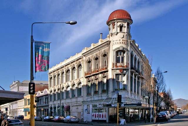 ANZ Bank Chambers .Christchurch.