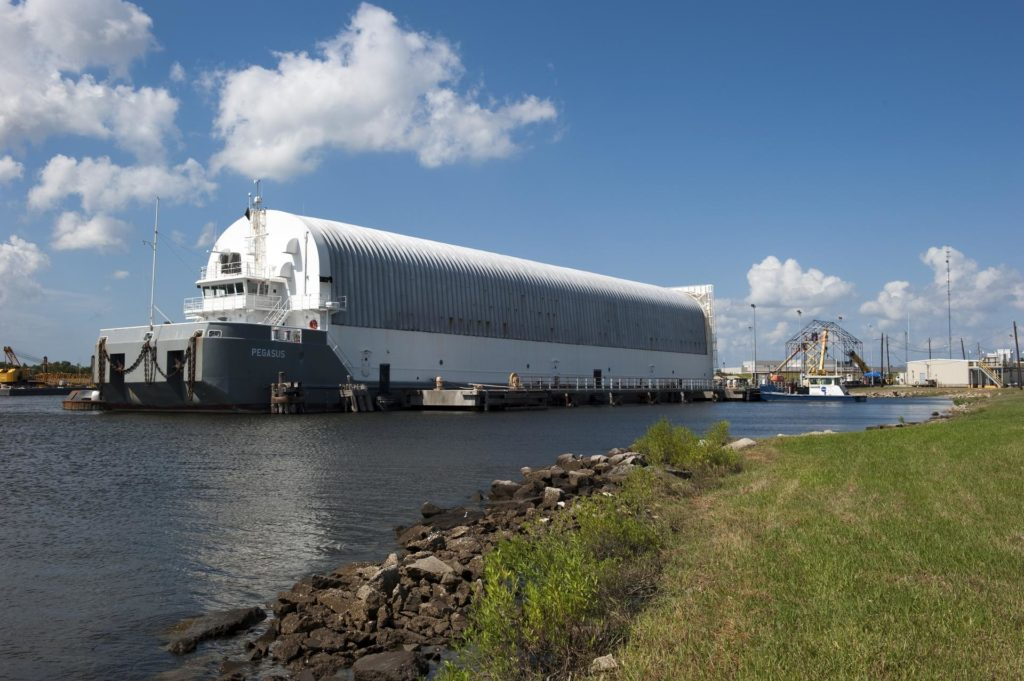 STS-335 LAUNCH ON NEED - ET-122 DEPARTS MICHOUD - ENROUTE TO KSC - 9-20-10 THRU 9-26-10 2010-4802