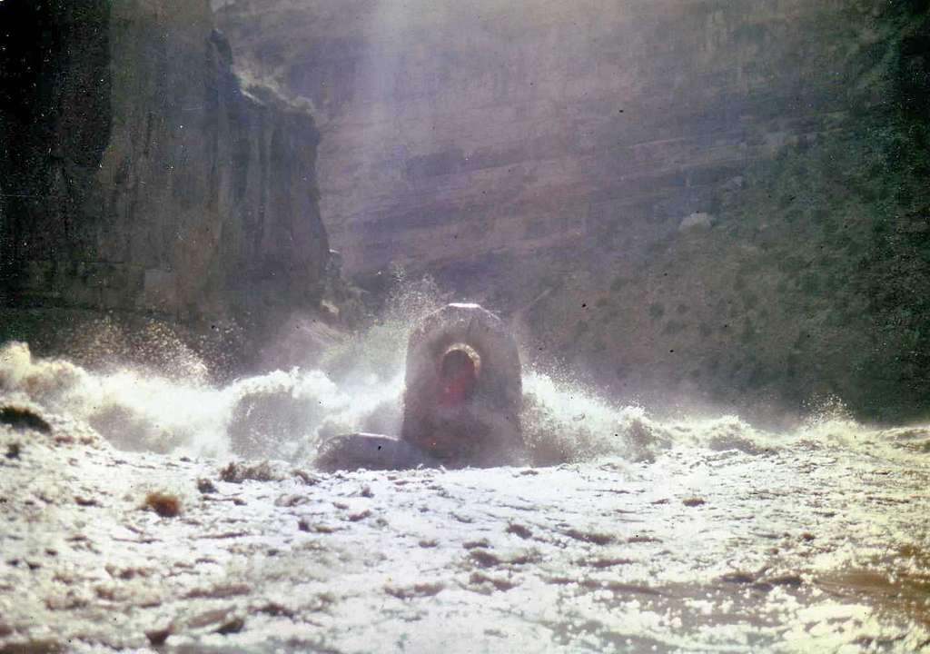 Raft in Warm Springs in 1984