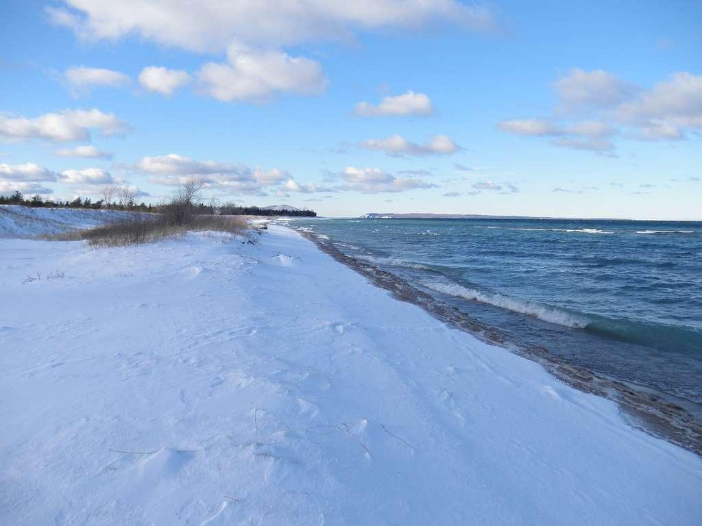 SLBE Glen Haven Beach - Winter