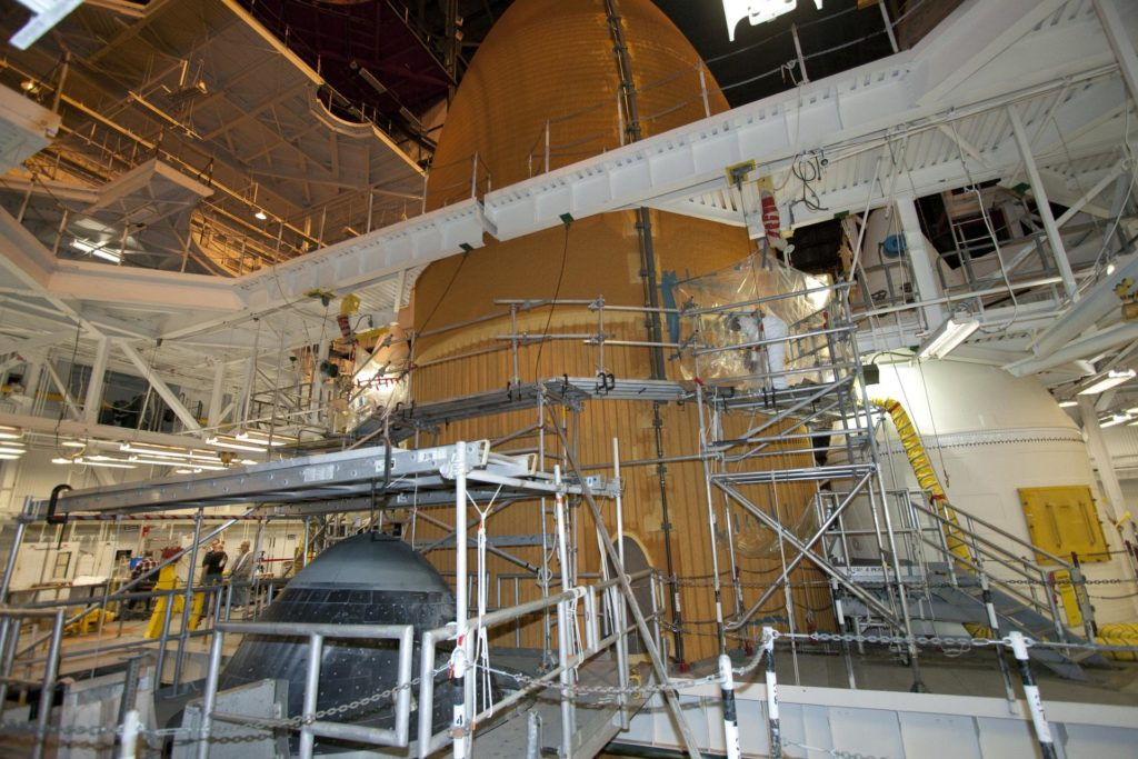 STS-133 ET-137 Repairs STS-133