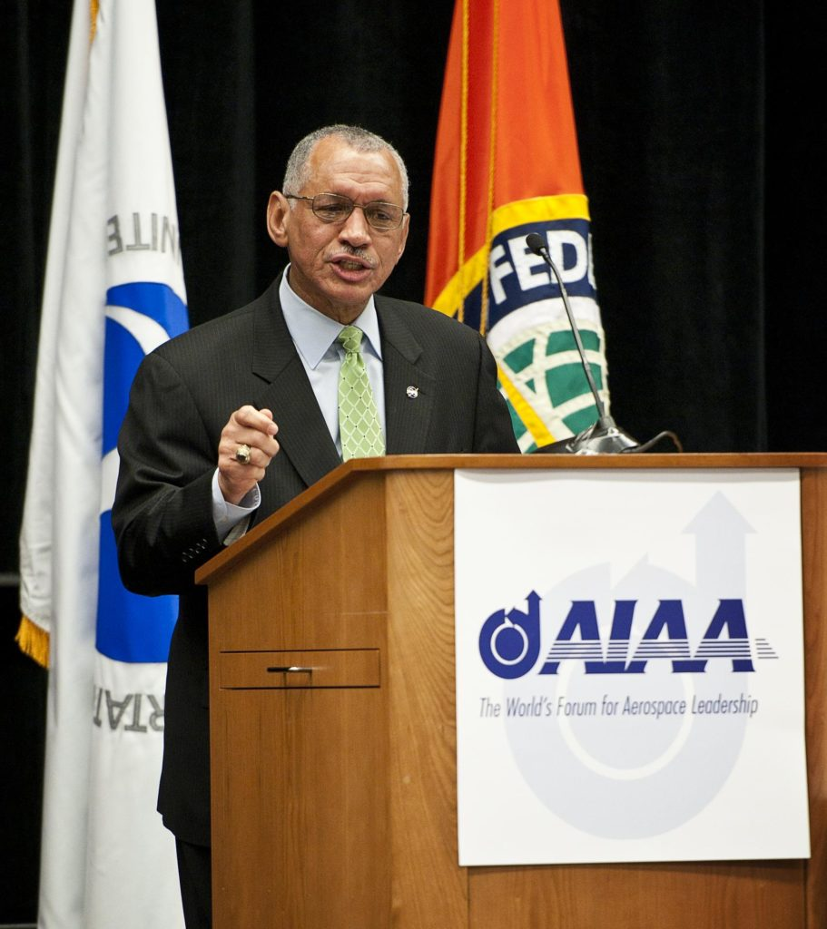 Bolden at FAA Commercial Space Transportation Conference
