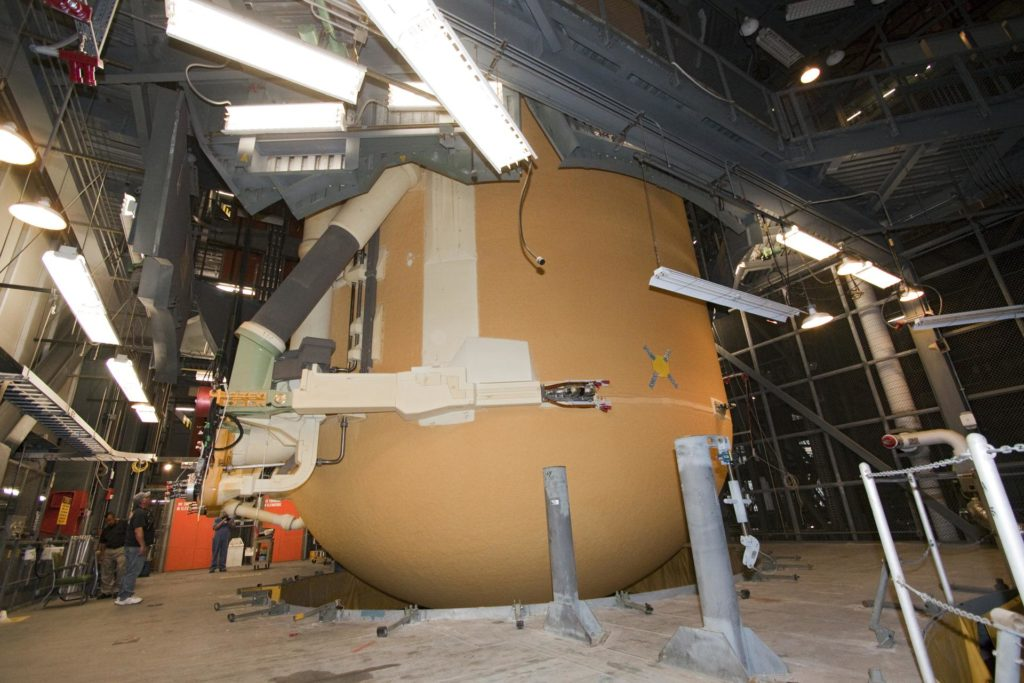 STS-135 ET-138 External Tank Mated to SRB's 2011-3035