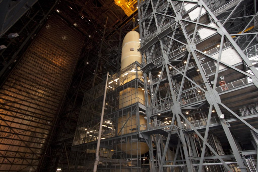 STS-135 ET-138 External Tank Mated to SRB's 2011-3038