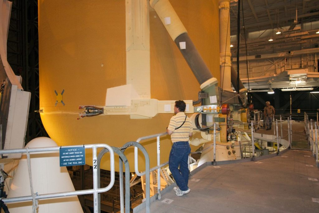 STS-135 ET-138 External Tank Mated to SRB's 2011-3045