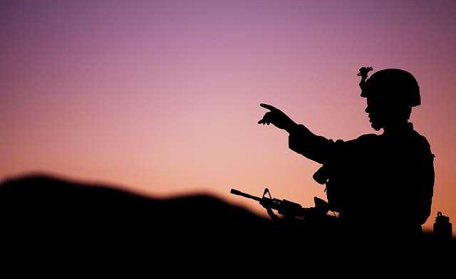 Mojave Viper training - Mortar platoon sergeant