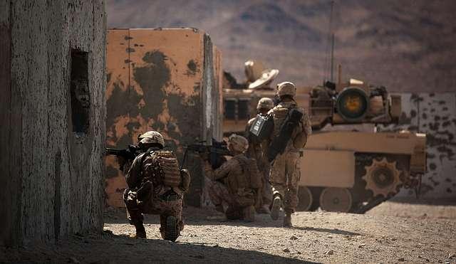 Mojave Viper training - squad movement