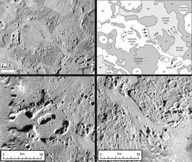 Spectacular Volcanic Features on Mercury