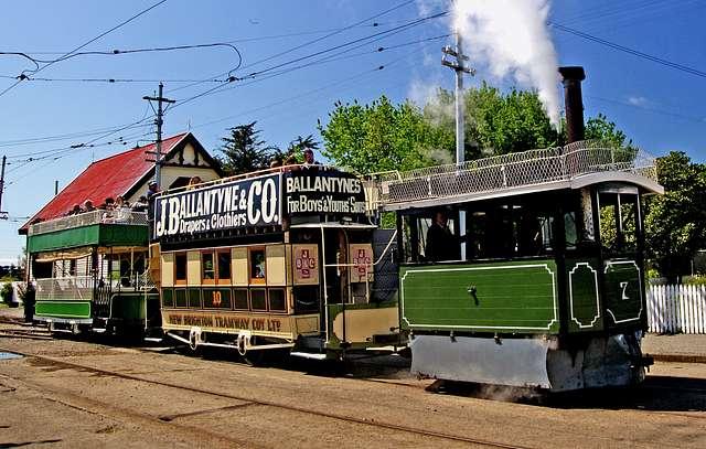 Kitson steam tram .