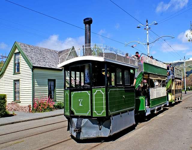 Kitson Steam Tram. No 7