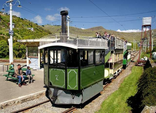Kitson steam tram No 7