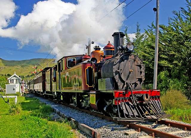 Steam locomotive W192