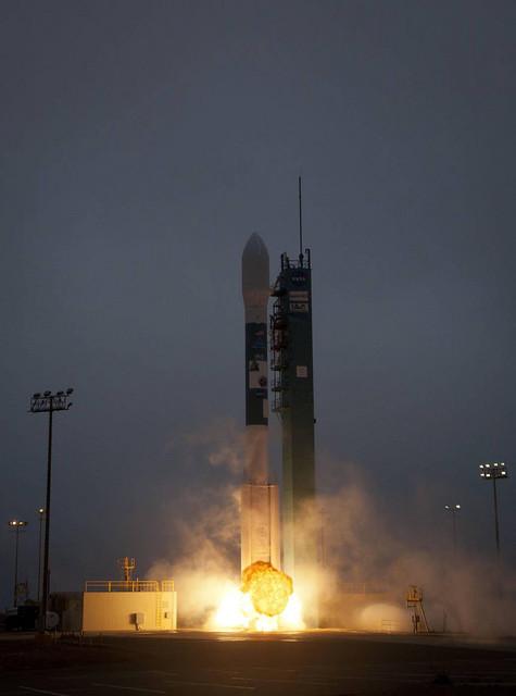 Aquarius Mission Liftoff