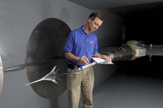 NASA Centers Team Up to Tackle Sonic Boom