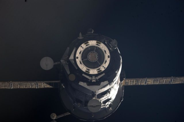 Progress M-13M / 45P Spacecraft departs from the ISS