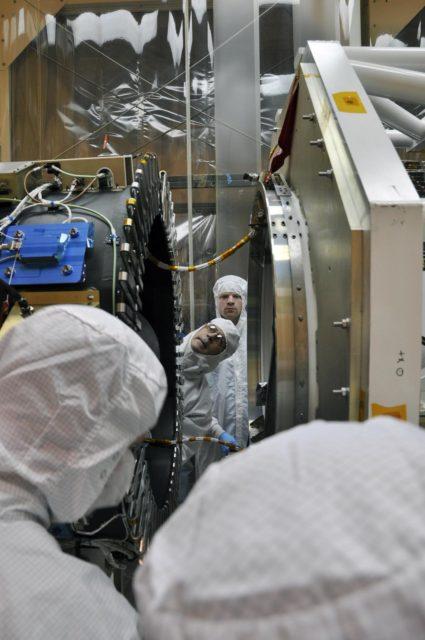 NuSTAR Inches Toward its Rocket