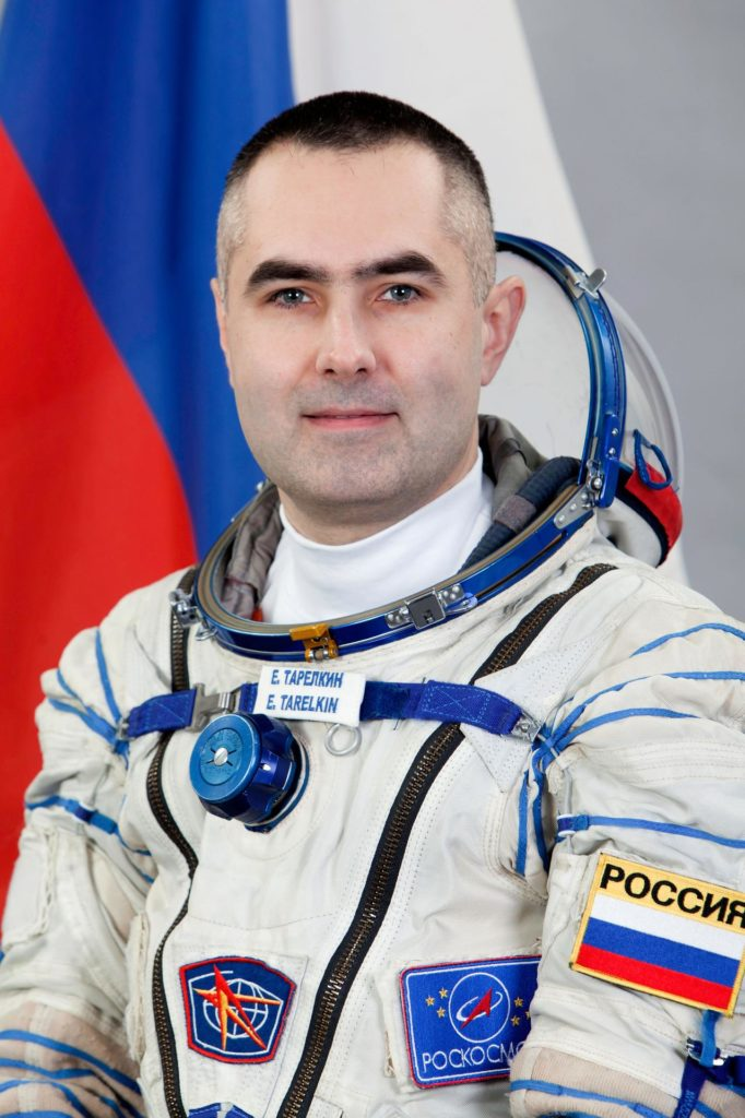 JSC2012-E-042063 (5 March 2012) --- Russian cosmonaut Evgeny Tarelkin, Expedition 31 backup crew member, attired in a Russian Sokol launch and entry suit, takes a break from training in Star City, Russia to pose for a portrait. Photo credit: Gagarin Cosmonaut Training Center jsc2012e042063