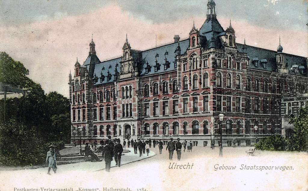 Postcard of Utrecht published in or before 1907
